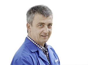 Andrej Ketis, tool maker and Chairman of the Employee Representation at Geberit Ruše (SI)