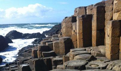 Across the centuries, the peculiar hexagonal basalt columns of the Giant's Causeway have stirred the imagination of residents and travellers (photo)